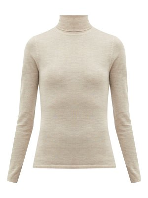 GABRIELA HEARST costa cashmere-blend roll-neck sweater