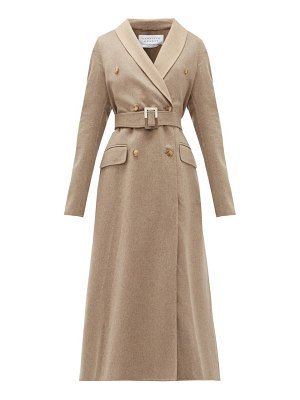 GABRIELA HEARST joaquin double-breasted belted cashmere coat