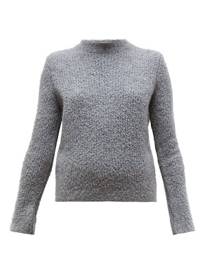 GABRIELA HEARST phillipe cashmere-blend bouclé round-neck sweater