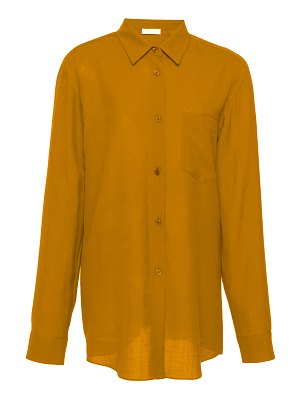 GABRIELA HEARST reyes button-down wool and cashmere top