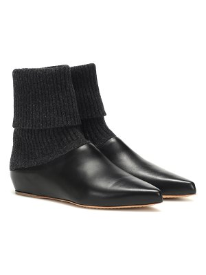 GABRIELA HEARST rocia leather ankle boots