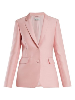 GABRIELA HEARST sophie single-breasted wool and silk-blend blazer