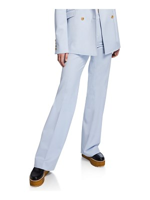 GABRIELA HEARST Torre Flat-Front Flare Pants