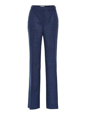 GABRIELA HEARST torres checked wool-blend pants