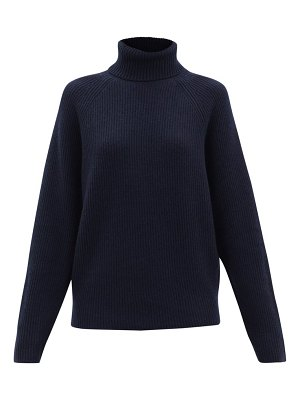 GABRIELA HEARST wigman roll-neck ribbed cashmere sweater