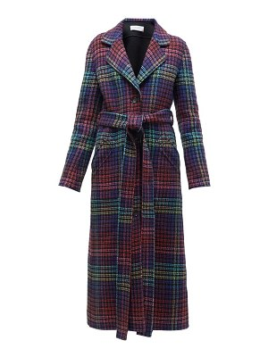 GABRIELA HEARST william reversible checked cashmere coat