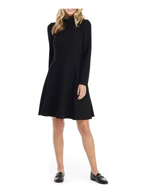 Gal Meets Glam Collection harlow long sleeve rib knit dress