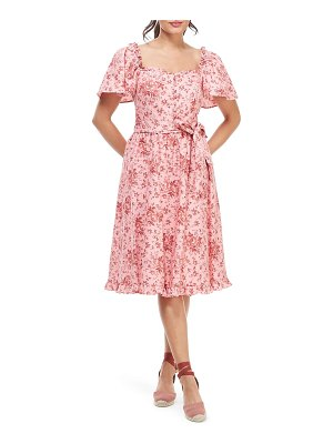 Gal Meets Glam Collection marianna floral print dress