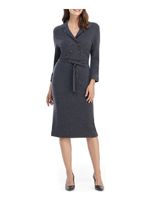 Gal Meets Glam Collection monica long sleeve midi sweater dress