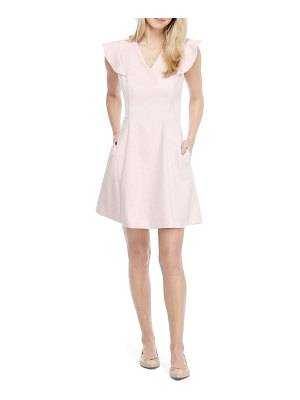 Gal Meets Glam Collection ruffle sleeve minidress