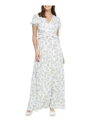 Gal Meets Glam Collection s floral v-neck maxi dress
