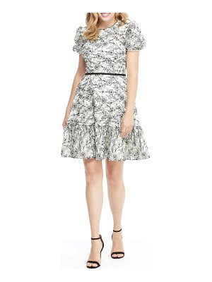 Gal Meets Glam Collection viola raffia embroidery pattern dress