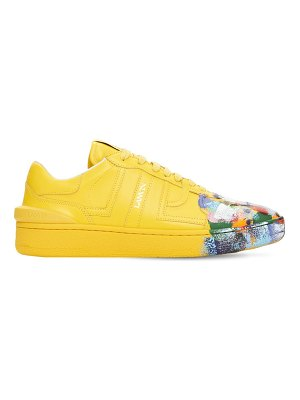 GALLERY DEPT X LANVIN Painted low leather sneakers
