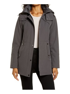 Gallery hooded soft shell jacket