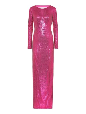 Galvan London exclusive to mytheresa – sequined gown