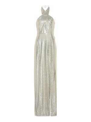 Galvan London galaxy sequined gown