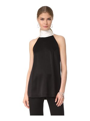 Galvan London sash neck top