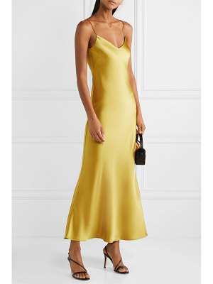 Galvan London satin gown