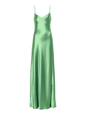 Galvan London satin slip dress