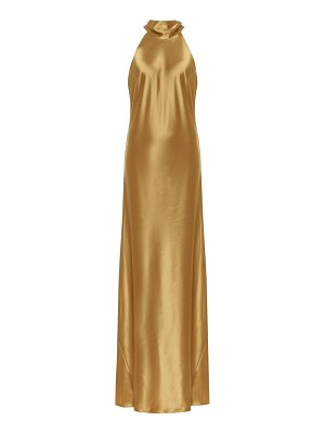 Galvan London sienna satin gown
