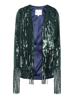 Galvan London winter jungle sequined jacket