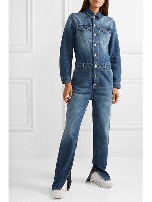Ganni denim jumpsuit