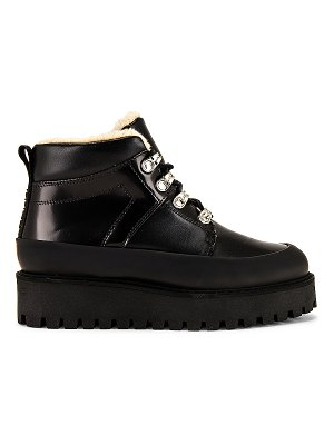 Ganni high top winter city boot