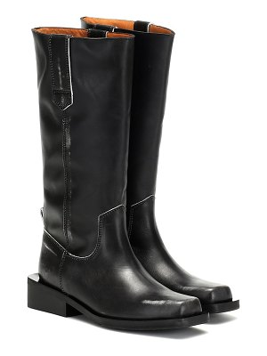 Ganni leather boots