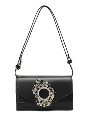 Ganni leather shoulder bag