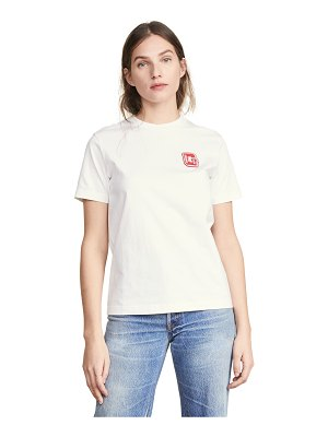 Ganni light jersey tee