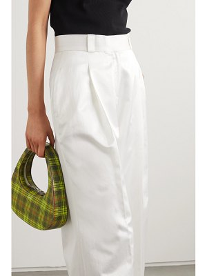 GAUGE81 cleveland pleated cotton-blend wide-leg pants