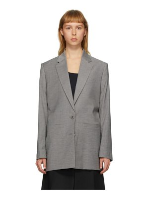 GAUGE81 grey saba blazer