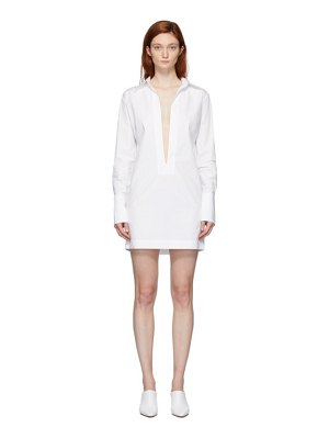 GAUGE81 white sparta dress