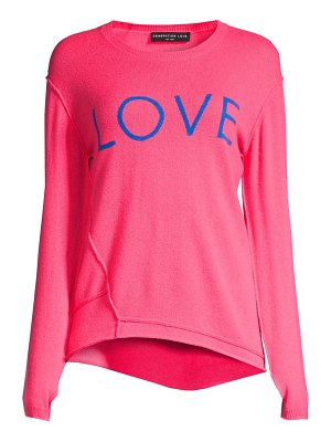 Generation Love abigail love cashmere sweater