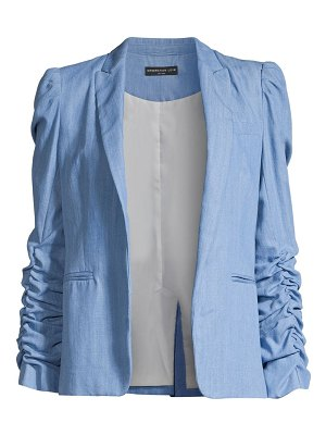 Generation Love juniper ruched sleeve blazer