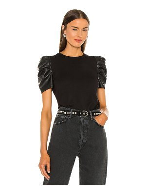 Generation Love penny vegan leather top