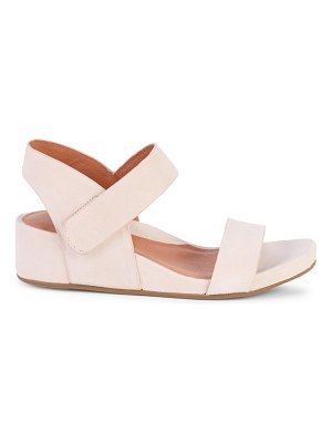 Gentle Souls Judith Two-Band Suede Sandals
