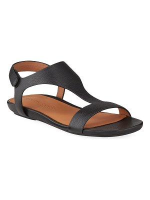 Gentle Souls Lark T-Strap Leather Sandals