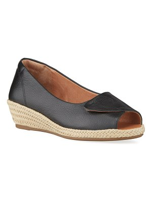 Gentle Souls Luci Easy Open Wedge Espadrille Sandals