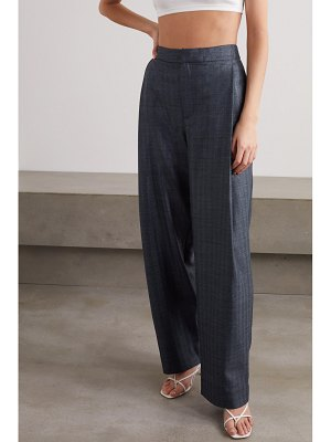 Georgia Alice bobby metallic denim tapered pants