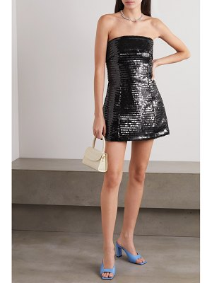 Georgia Alice mintie strapless sequined tulle mini dress