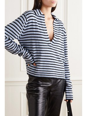 Georgia Alice oversized striped knitted sweater
