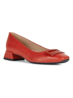 Geox vivyanne square toe loafer pump