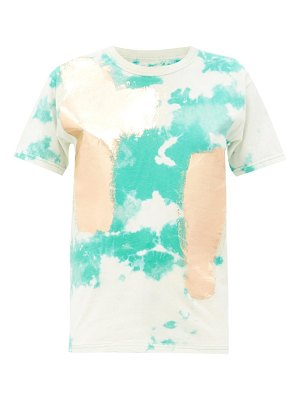 GERMANIER tie-dye upcycled cotton-jersey t-shirt
