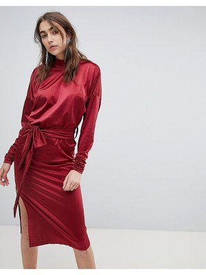 Gestuz high neck slinky dress