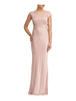 GHOST LONDON salma cowl back gown