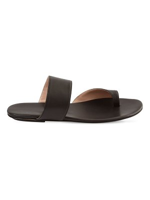 GIA COUTURE 10mm zefiro leather thong sandals