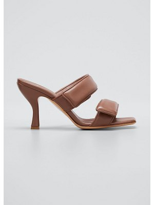 GIA x Pernille Perni Two-Band Puffy Slide Sandals
