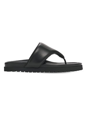 GIA X PERNILLE TEISBAEK 20mm padded leather thong sandals