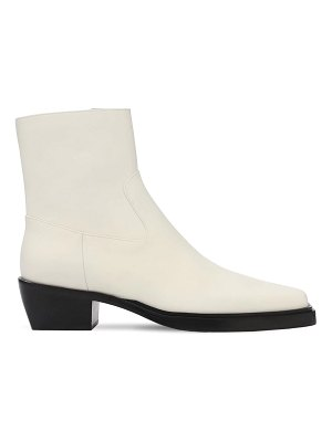 GIA X PERNILLE TEISBAEK 60mm leather western boots